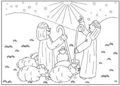 Kleurplaten Kerst De Wijzen.Kleurplaten Kerst Clipart Geloven Is Leuk