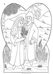 Kleurplaten Oude Testament Ruth Clipart Geloven Is Leuk